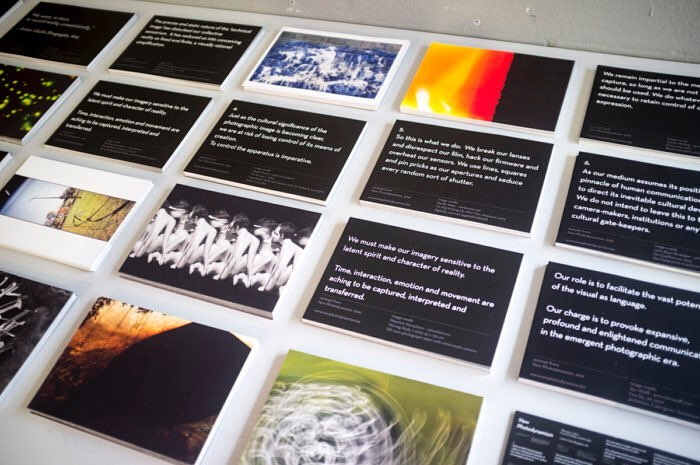 'New Photodynamism' Printed and presented as part of the 2016 EARN Conference 'That Art Exhibits'.