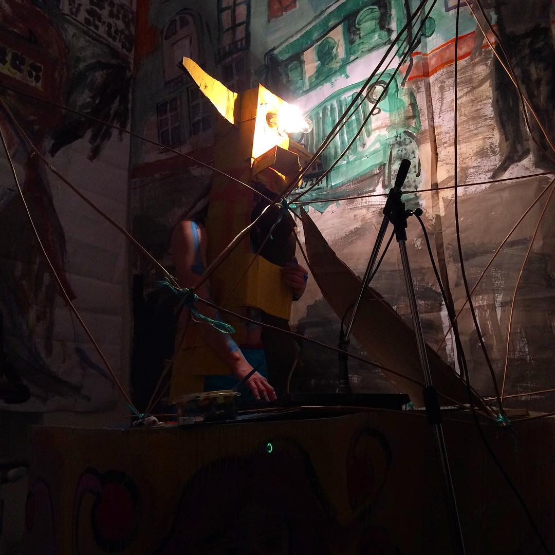 YAM Performance Art at @clovisxv