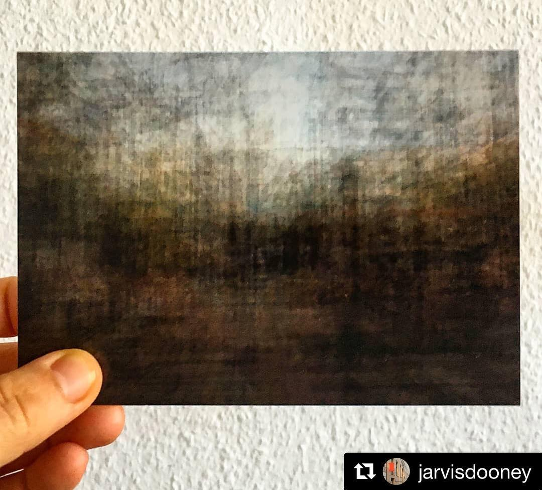 #Repost @jarvisdooney ————— Postcard of my recent work 'Saintclette to Botanique', part a developing project called 'Avoid Highways'. ————— At Jarvis Dooney (@jarvisdooney) in Berlin as part of the Postcard Salon exhibition.  The show is open until April 20.